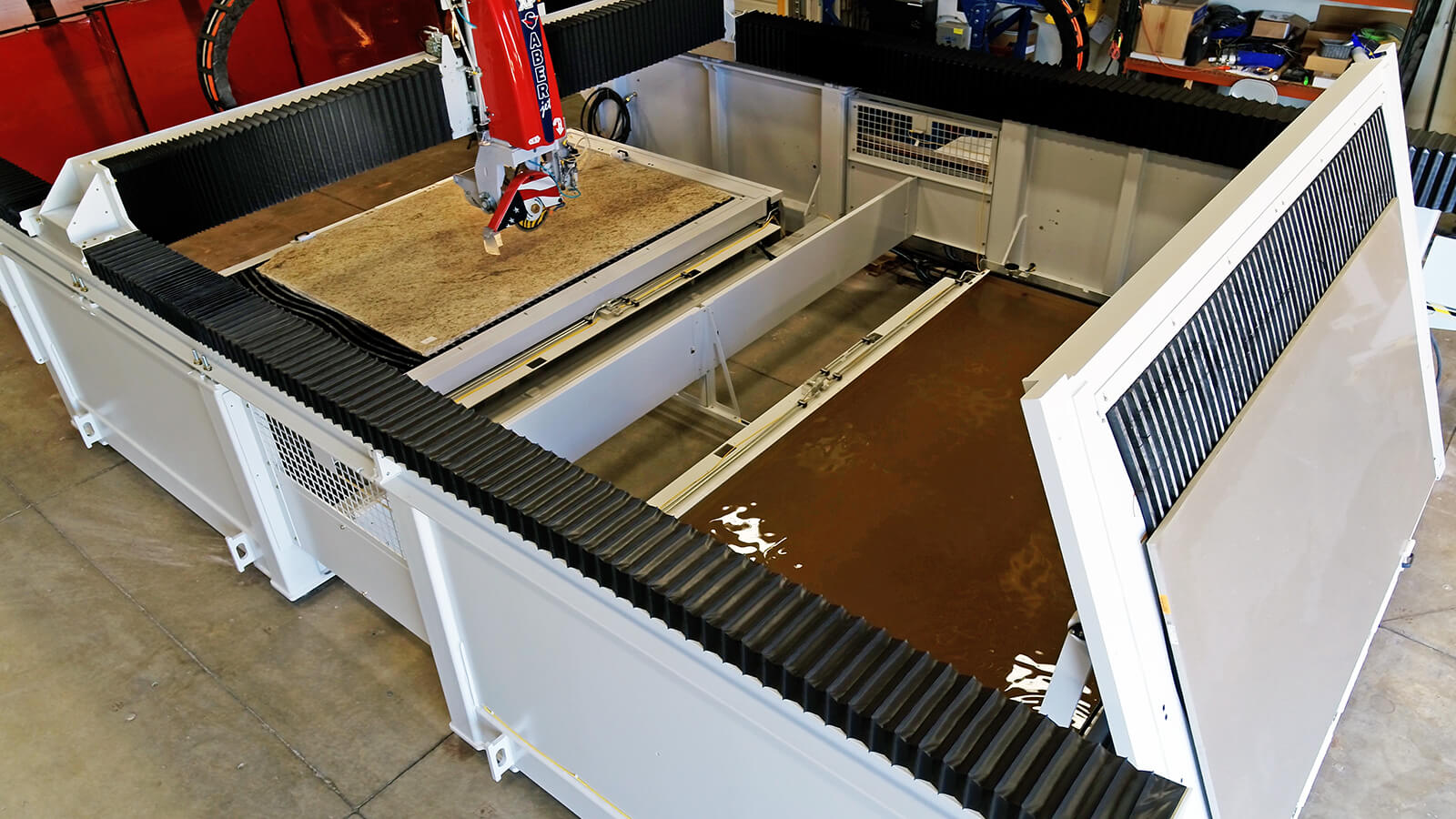 SABERjet XP CNC Sawjet | Twin Table Model