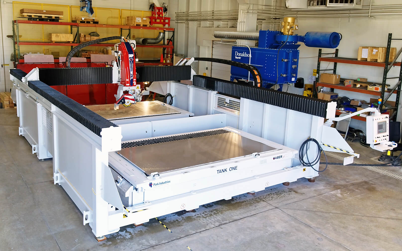SABERjet XP Dual Table CNC Sawjet for Stone Fabrication