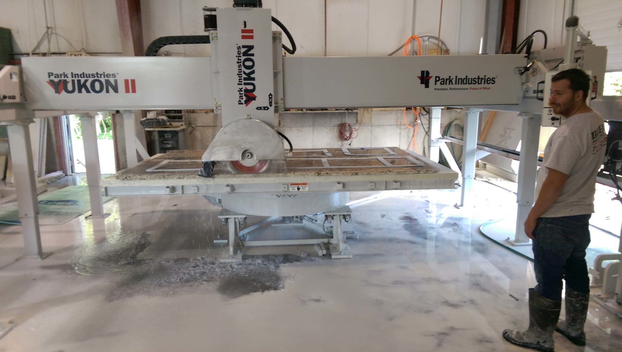YUKON II cutting at Direct Granite & Marble
