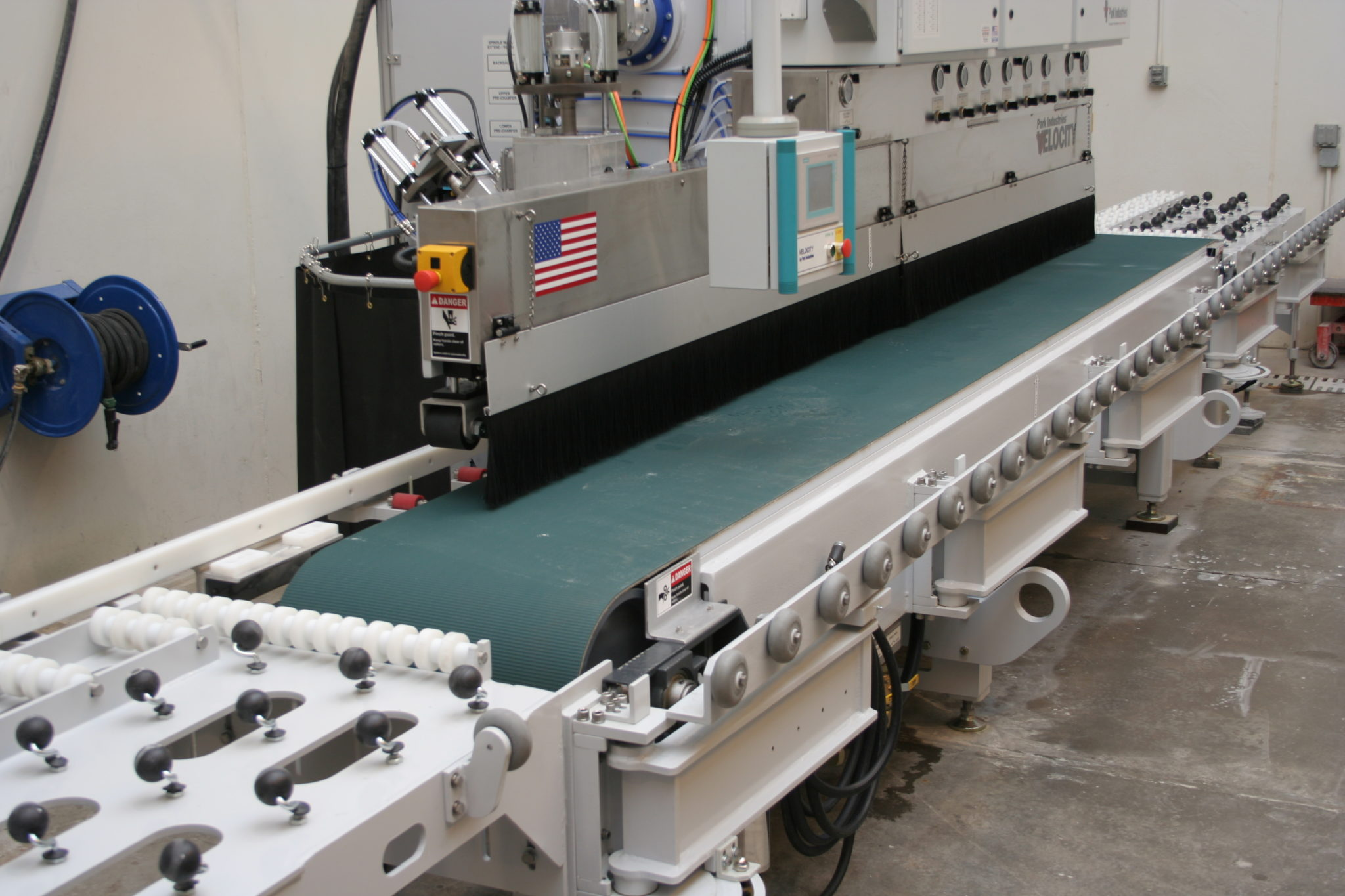 VELOCITY Edge Shaper and Polisher for Stone Countertop Fabrication from Park Industries