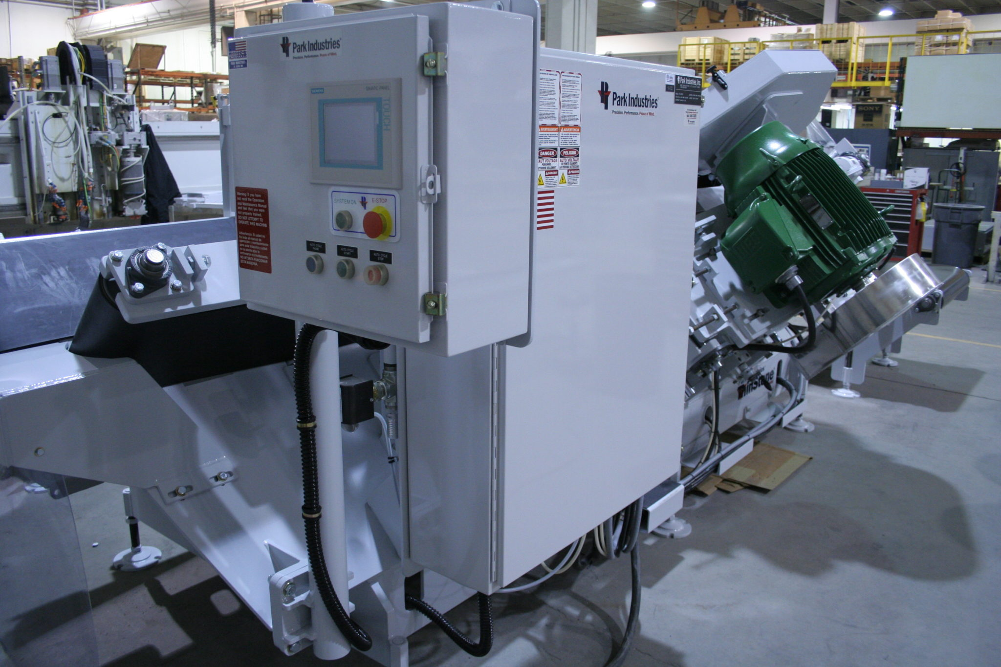 TXS-4800 ThinStone Veneer Saw Touch Screen from Park Industries