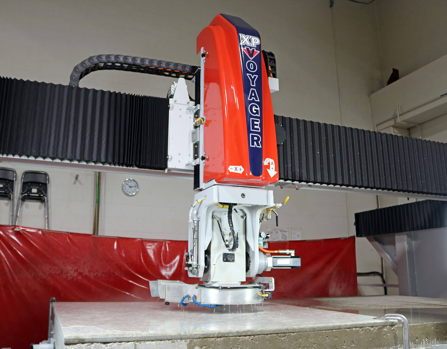 Routing & Coring Tools | VOYAGER XP 5-Axis CNC Saw for Stone Cutting