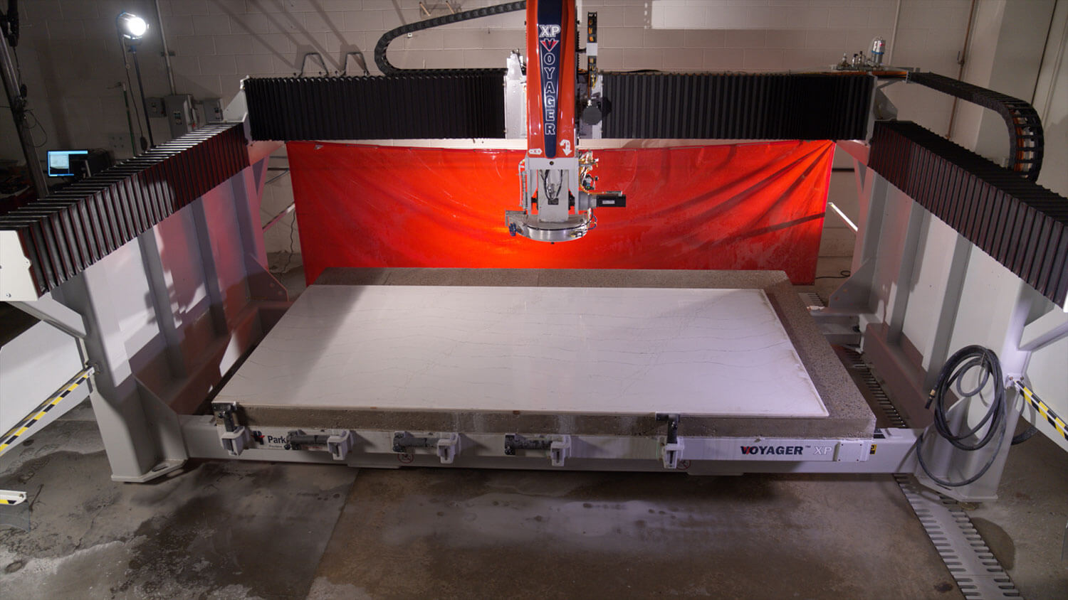 VOYAGER XP 5-Axis CNC Saw for Stone Cutting
