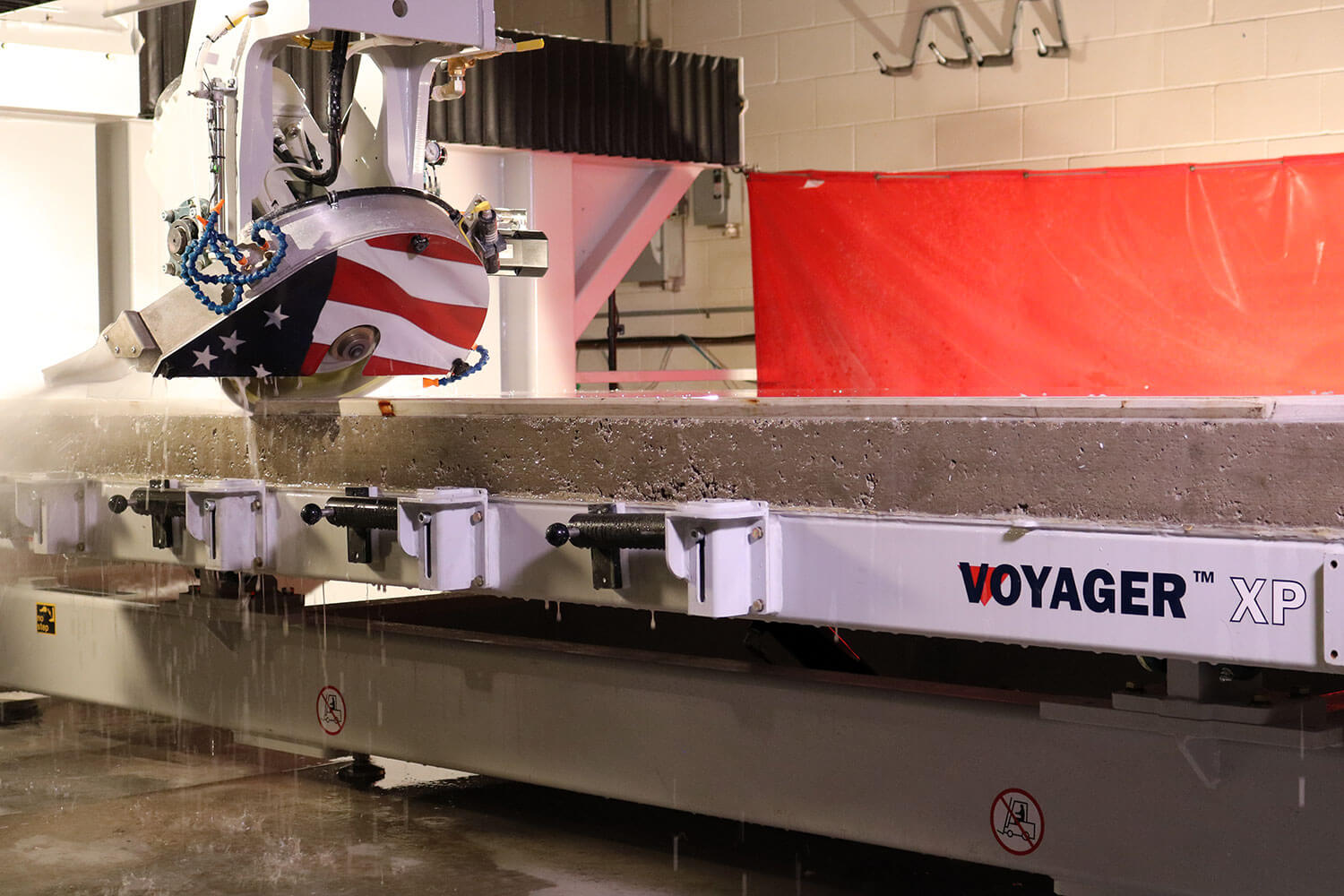 Mitering | VOYAGER XP 5-Axis CNC Saw for Stone Cutting