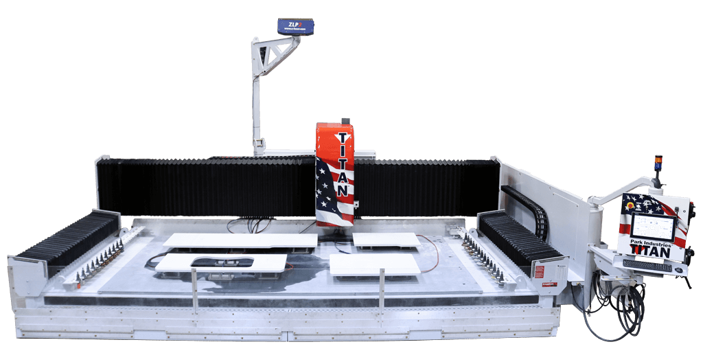 TITAN CNC Router - 3000 Series for Stone Countertop Fabrication