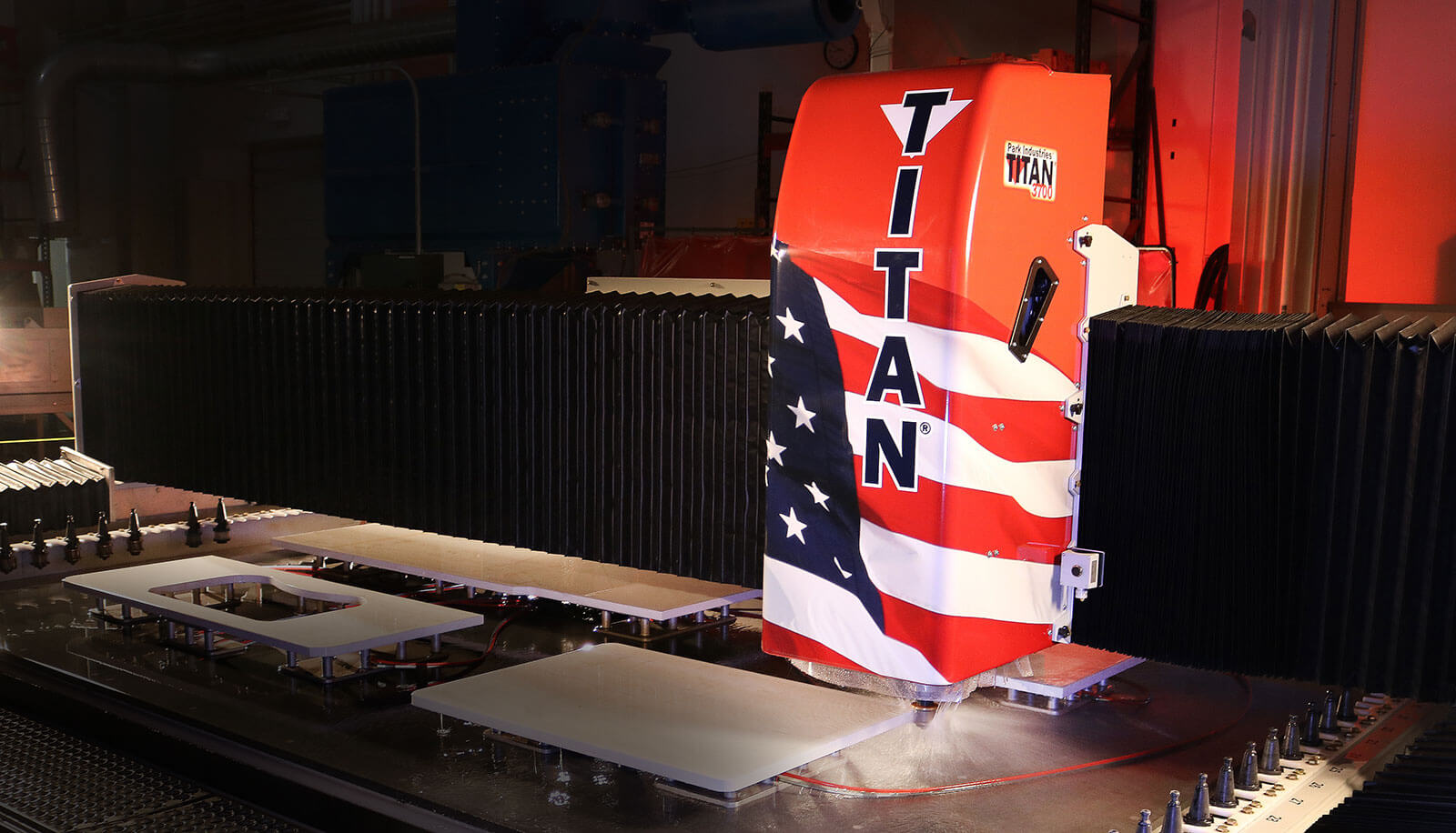 TITAN CNC Router for Stone Fabrication