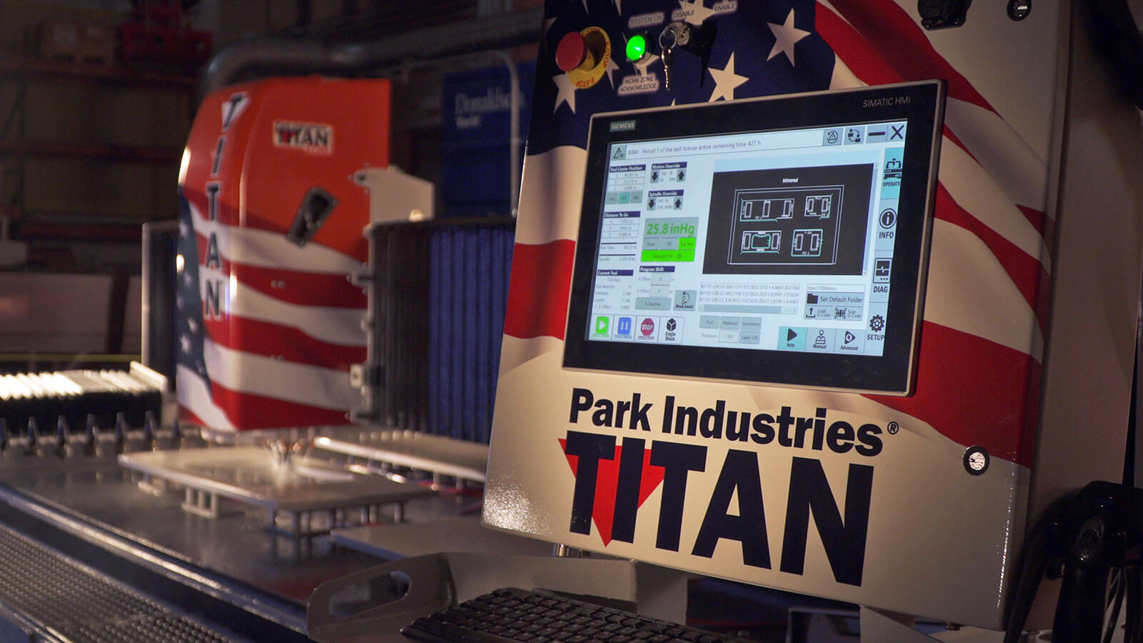 iTEC Interface | TITAN CNC Router for Stone Fabrication