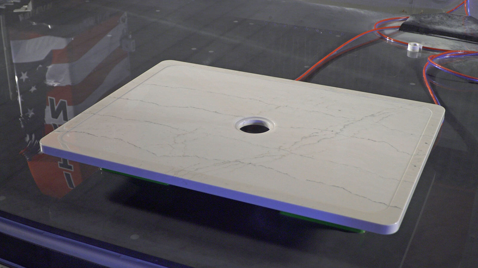 Finished Stone Sloping | TITAN CNC Router for Stone Fabrication