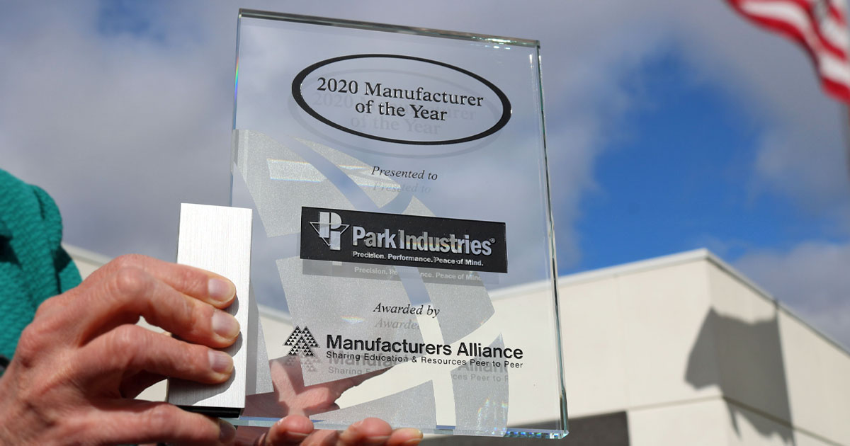 Park Industries Wins Manufacturer of the Year